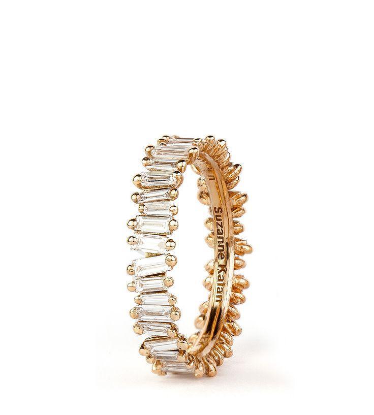 Wedding - Shop :: PRODUCT LINE :: RINGS :: 18K ROSE GOLD BAGUETTE BAND