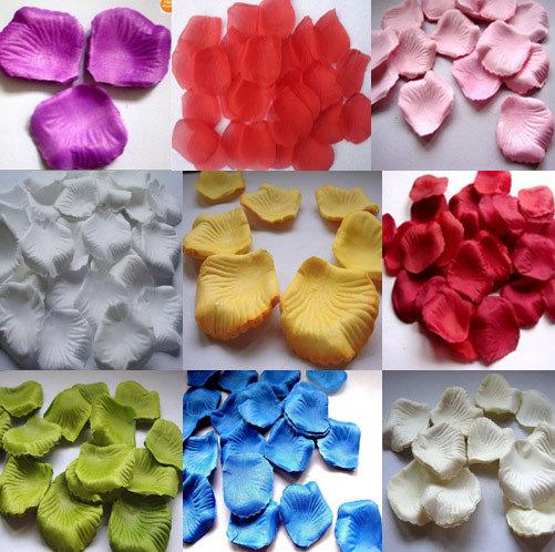 Свадьба - 1000pc Silk Rose Petals Wedding Supplies wholesale (US Seller)
