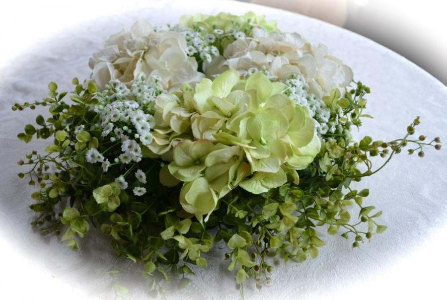Hochzeit - Everlasting Love, Wedding Floral Centerpiece~Silk Wedding Flowers, Baby Shower Centerpiece, Anniversary Flowers, Party Centerpiece