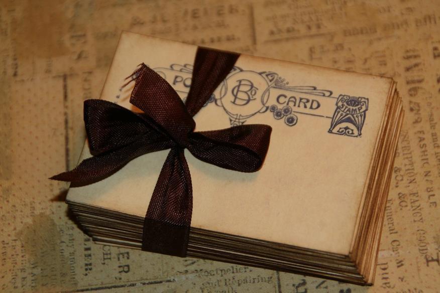 زفاف - 100 Vintage Post Card Wedding Place Card or Wedding Escort Cards