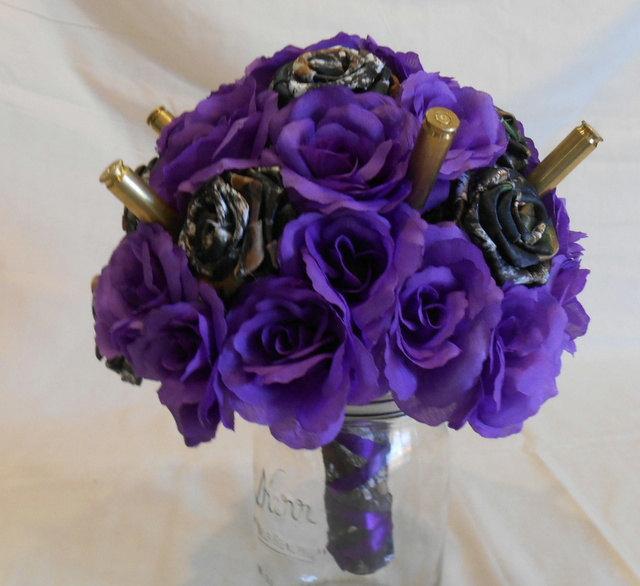 Camo Wedding Bouquet Camo Bridal Bouquet Camo Wedding