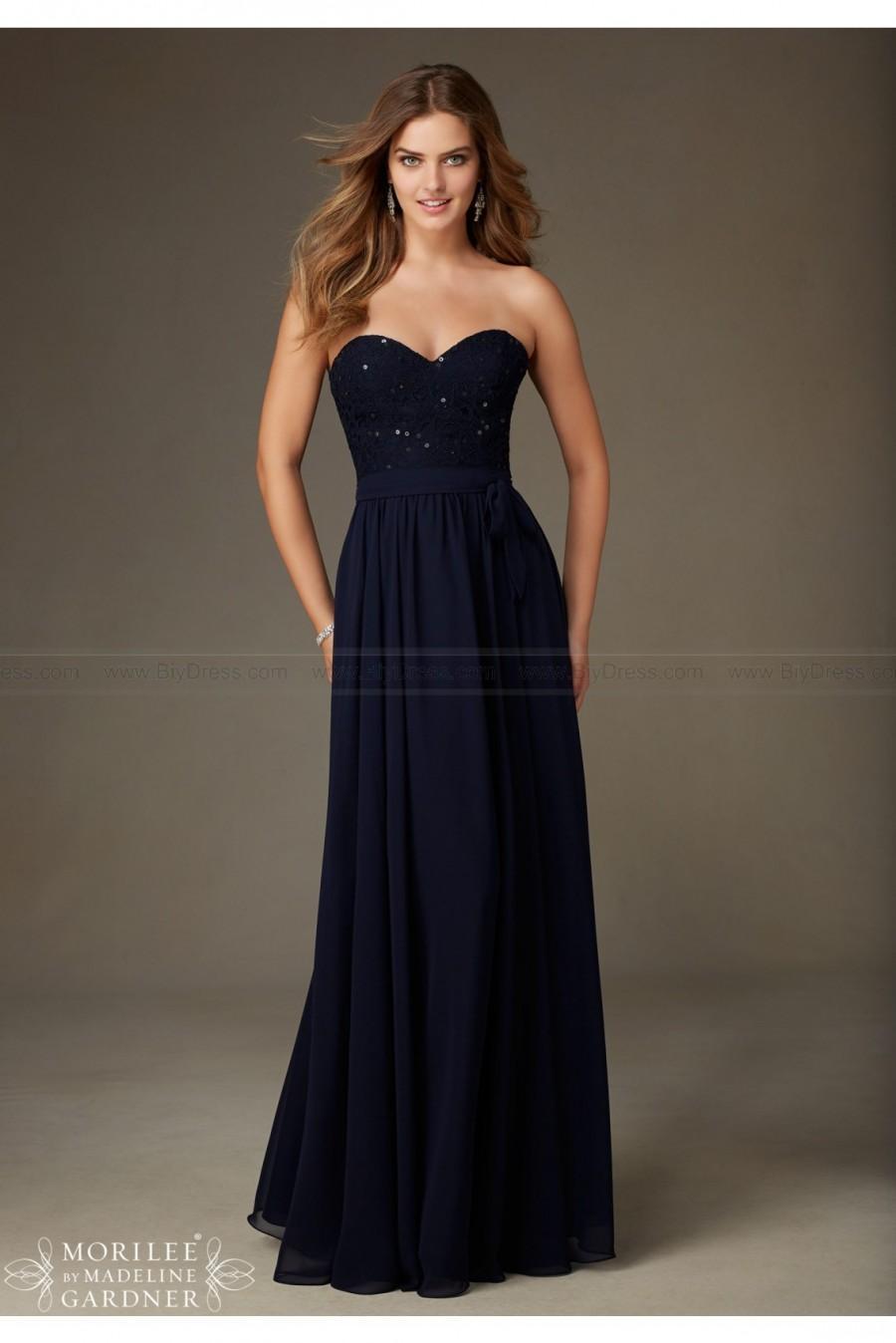 Wedding - Mori Lee Bridesmaids Dress Style 128