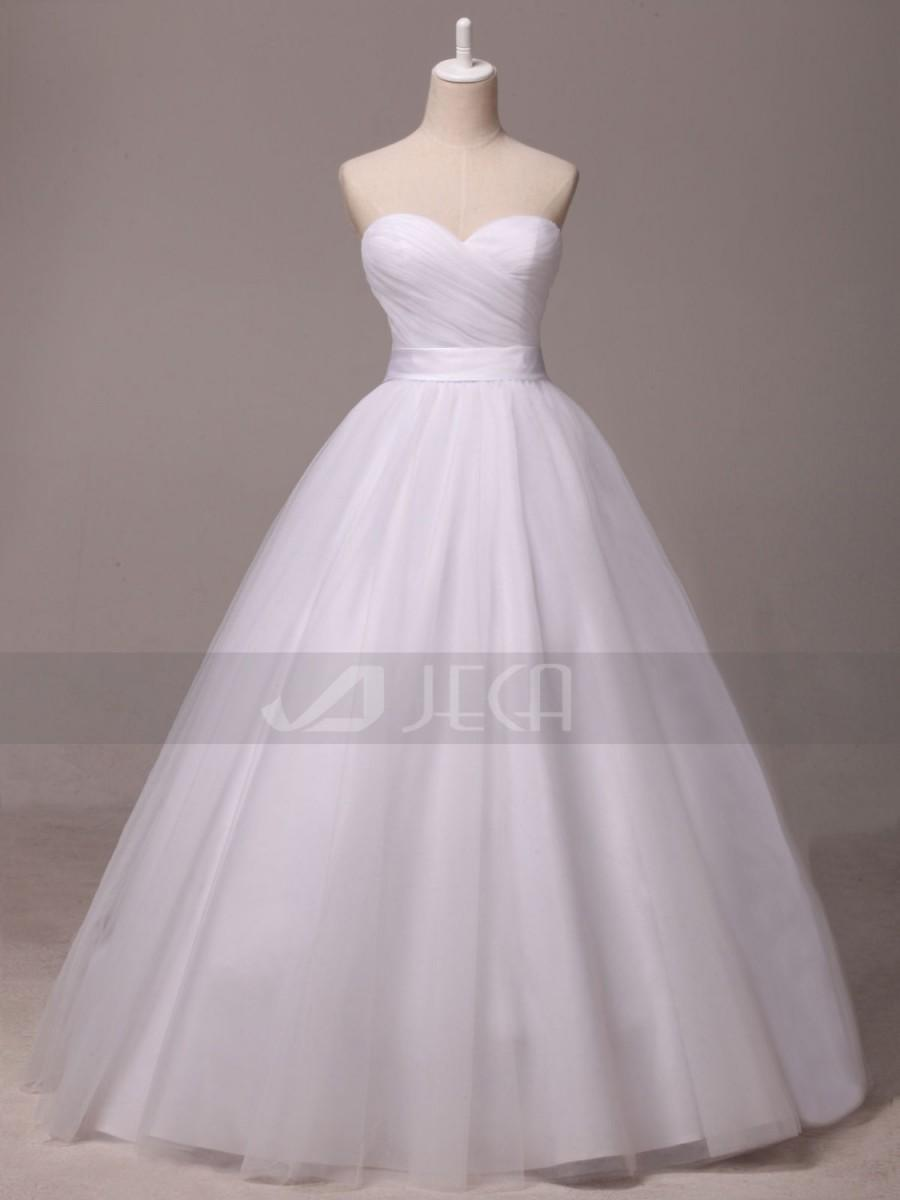 Mariage - Princess Wedding Dress Simple Wedding Dress W899