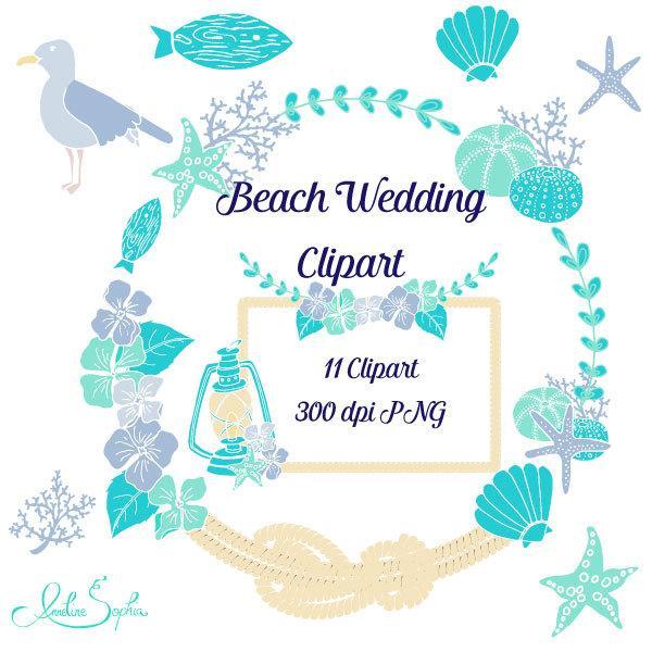 beach wedding clipart nautical wedding invitation clip art sea rh fr weddbook com Beach Wedding Clip Beach Wedding Card