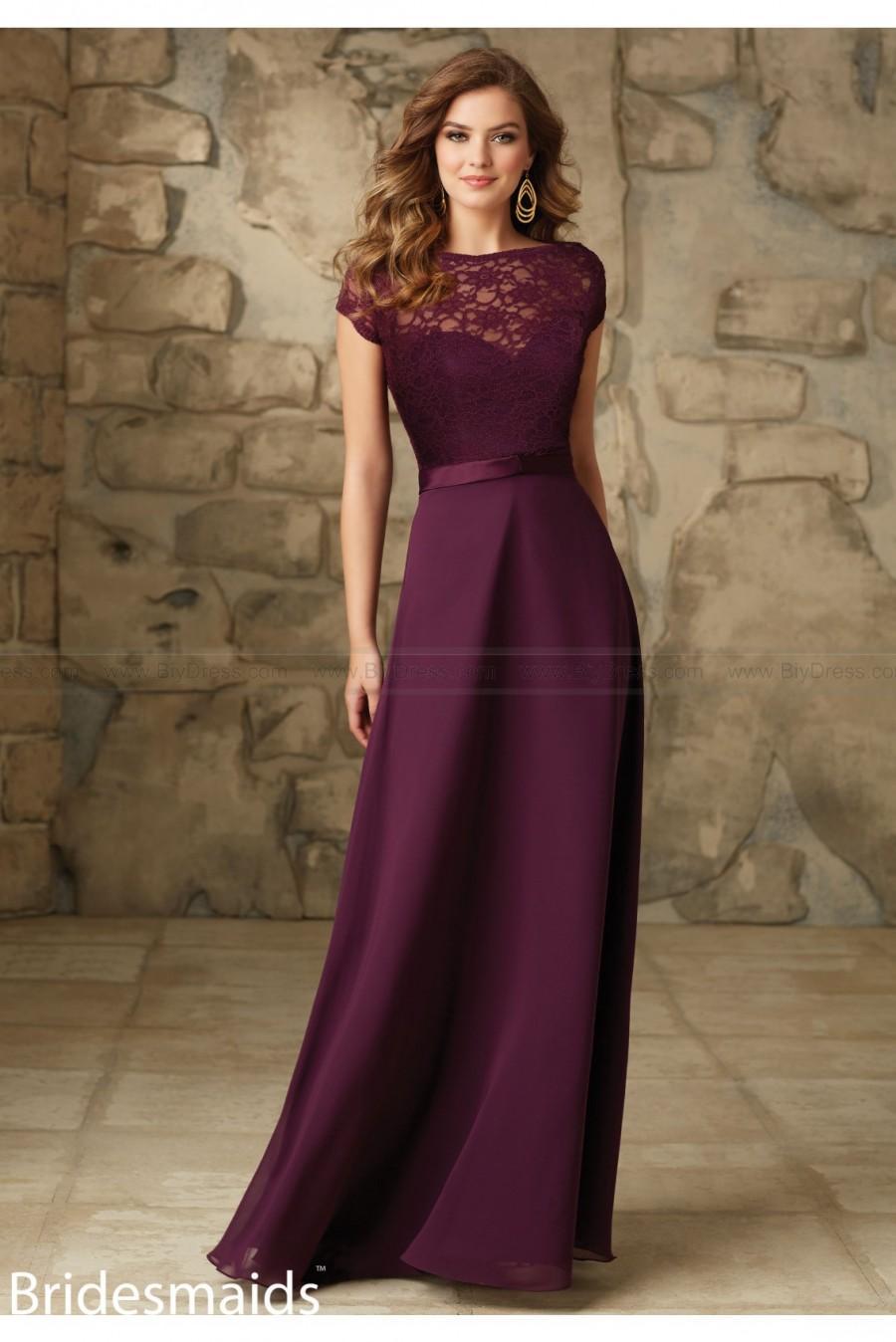 Mariage - Mori Lee Bridesmaids Dress Style 101
