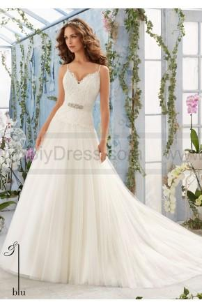 Mariage - Mori Lee Wedding Dresses Style 5411