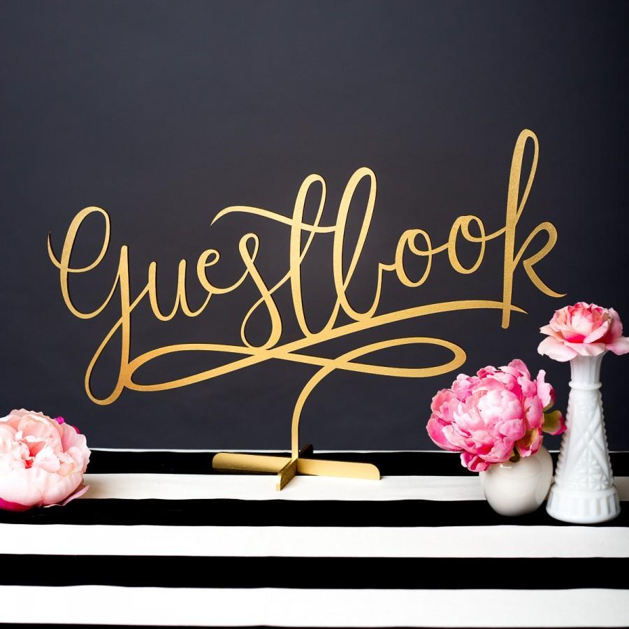 Wedding - Wedding Sign Guest Book Sign - Guestbook Sign - Joyful Collection