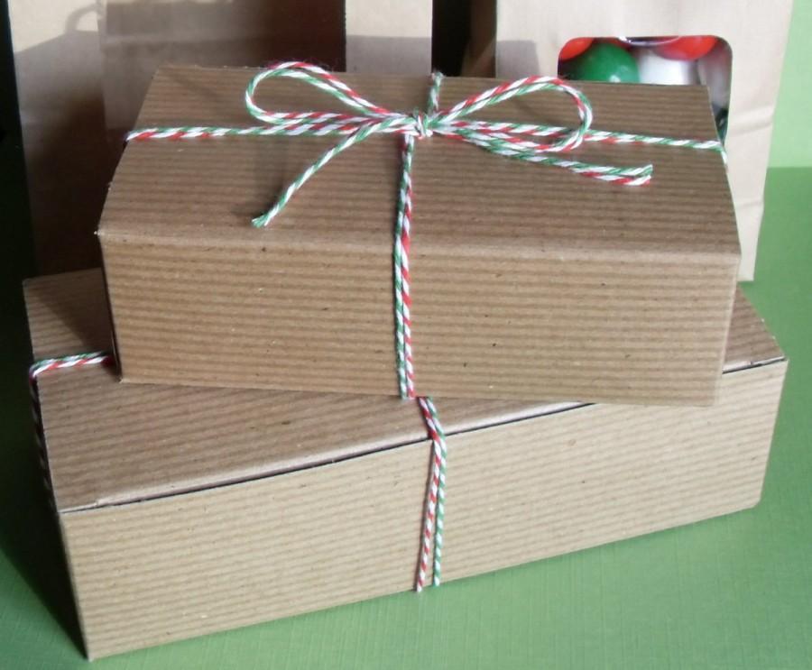 زفاف - 24 Kraft Brown One Pound Candy Boxes, Kraft Brown Cookie Boxes, Wedding Kraft Brown Favor Boxes, Food Boxes, Kraft Brown Favor, Gfit Boxes
