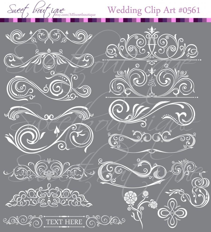 Clip Art Embellishment Designs