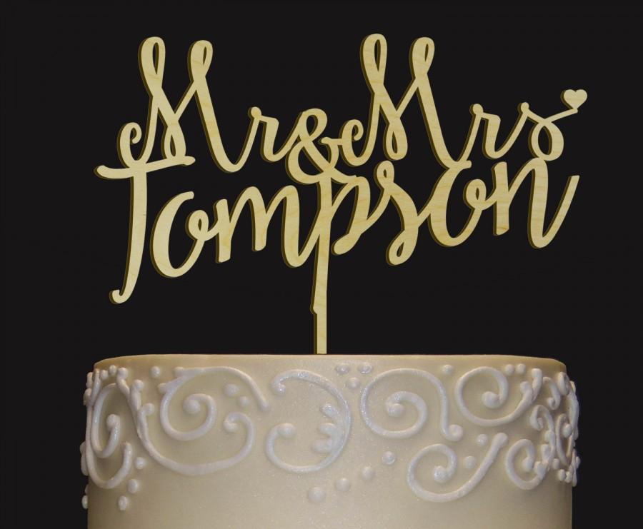 Boda - Rustic Wedding Cake Topper - Personalized Monogram Cake Topper - Mr  Mrs Cake Topper - Keepsake Wedding Cake Topper