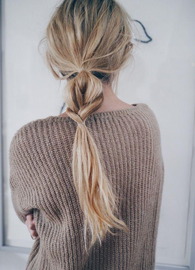 Свадьба - 7 Monday Morning Hairstyles That You Can Do In Under 5 Minutes