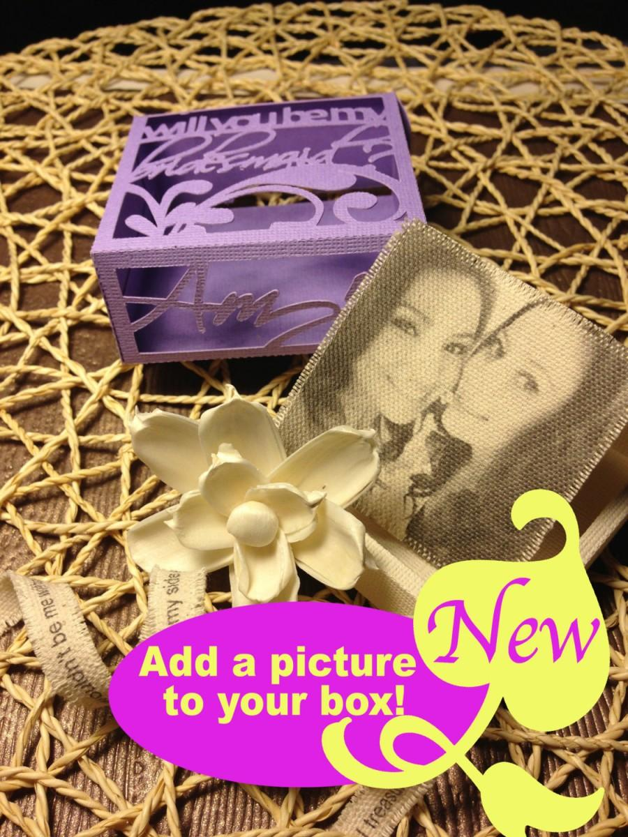 Mariage - Add a picture to any box
