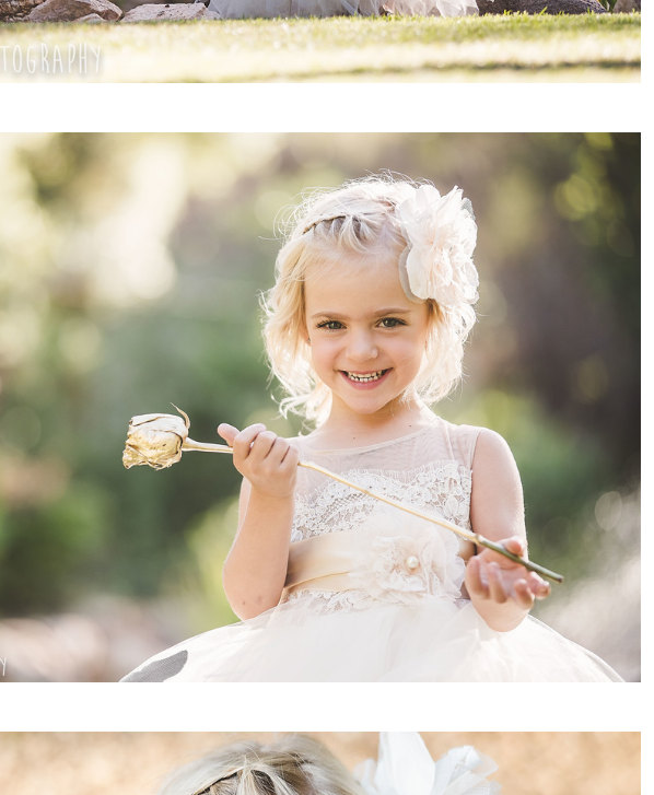 Mariage - flowergirl dress 'Portia' with poufy ivory tulle skirt , sheer net, French lace, satin sash and handmade flowers
