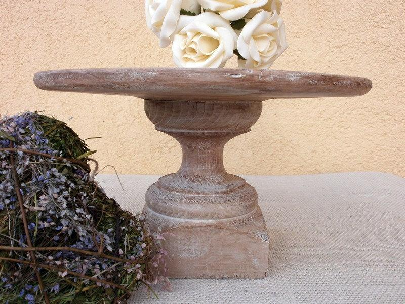 Decor Cake Holder : Wedding Decor Rustic Cake Stand / Dessert Stand Or Cheese ...