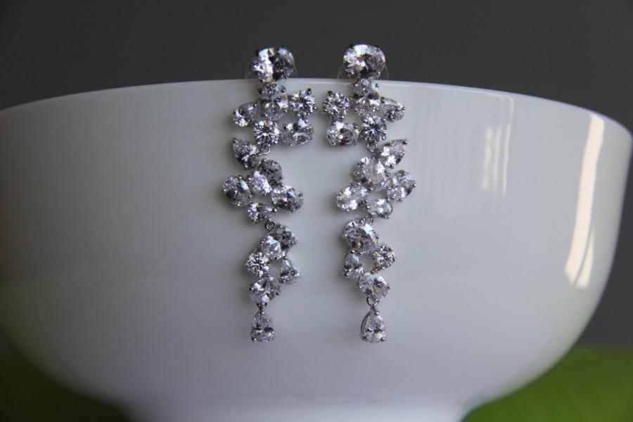 swarovski bridesmaid from nation jewelry copy earrings earringsnation crystal square