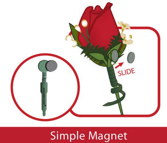 Свадьба - 12 Boutonniere Magnets