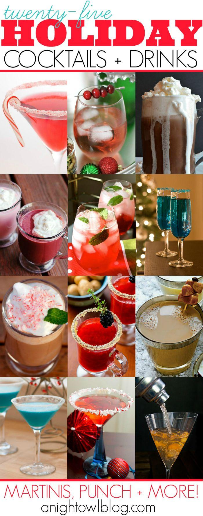 Hochzeit - 25 Holiday Cocktail Recipes