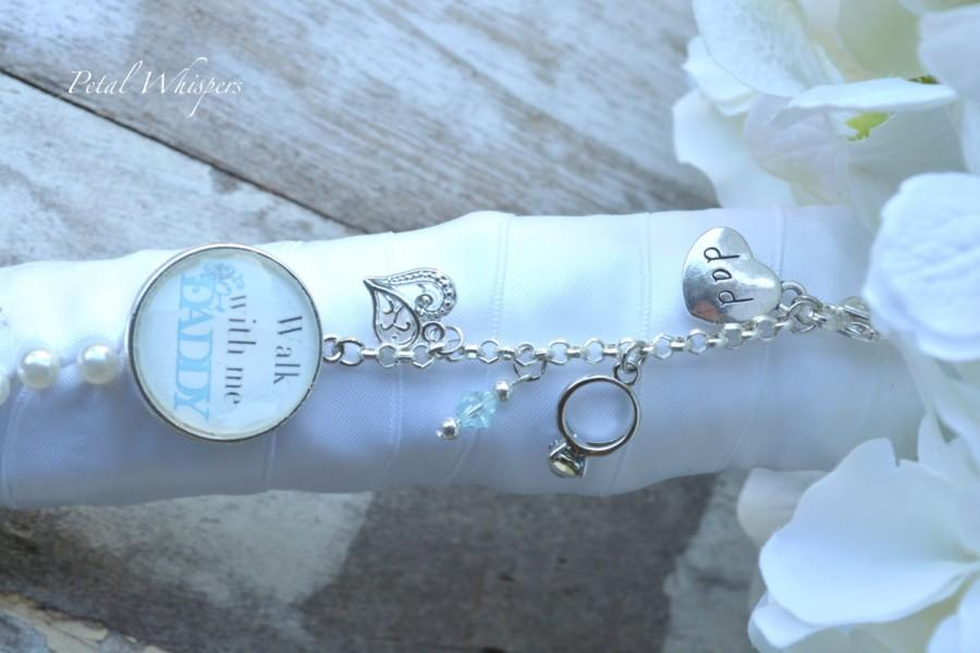 Bridal Bouquet Charm Something Blue Bouquet Photo Charm Two