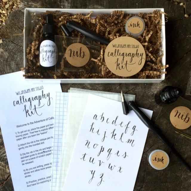 Calligraphy Starter Kit Beginner Calligraphy Lettering
