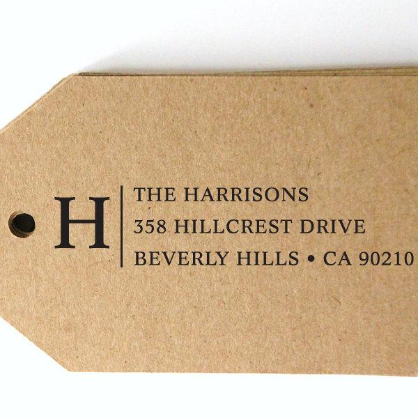 Wedding - CUSTOM pre inked address STAMP from USA, custom address stamp, pre inked custom address stamp, return address stamp with proof - Stamp b5-36