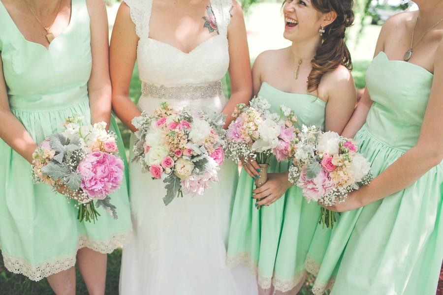 Wedding - Mismatched Cotton Bridesmaid Dresses for Your Wedding / Mix and Match / Custom / Handmade in USA / Summer Dress