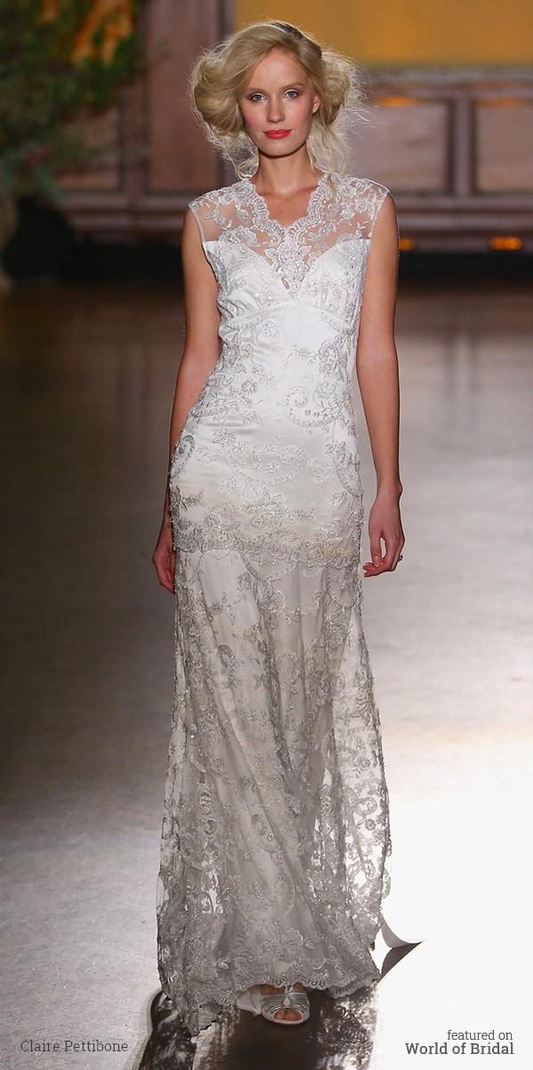 Wedding - The Gilded Age Collection : Claire Pettibone Fall 2016 Wedding Dresses