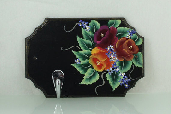 Flowers Key Holder / Wall Key Holder / Key Chain Holder / Home ...