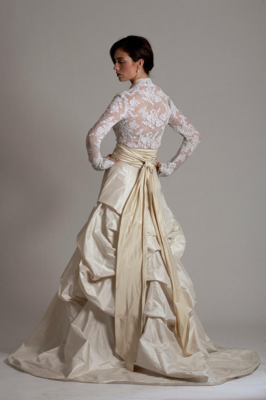 Mariage - Grace (Lace Jacket, Embellished Skirt & Sash)