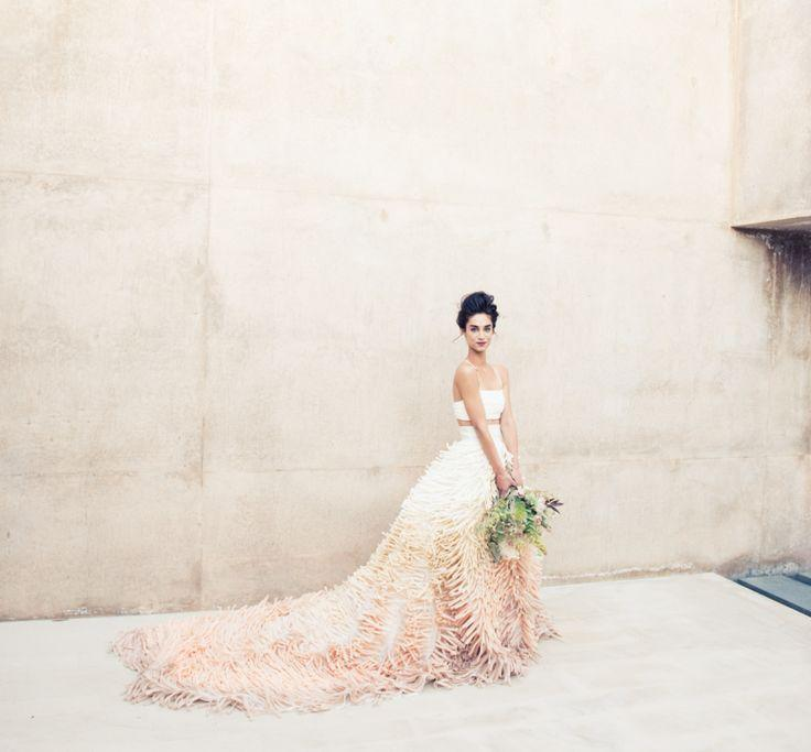 Mariage - Boho Chic Desert Wedding Of Andi Potamkin   Jordan Blackmore.