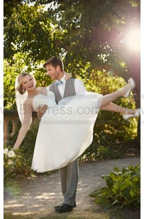 Mariage - Essense of Australia Short Wedding Dress Style D2103
