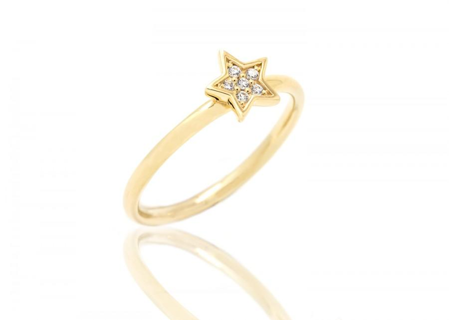 couple star ring models and rings diamond marriage set item white gold wedding female