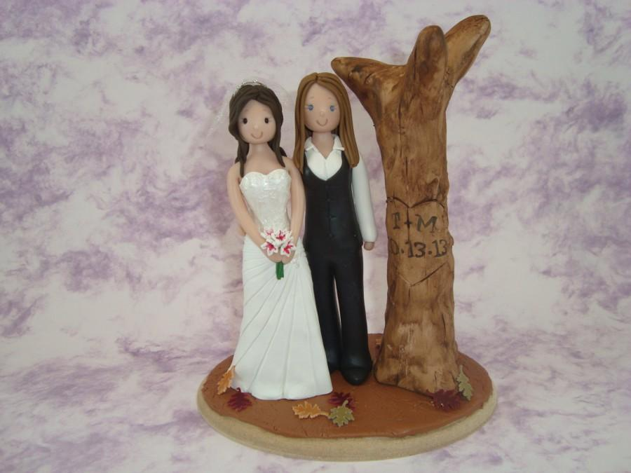 Mariage - Personalized Same Sex Wedding Cake Topper