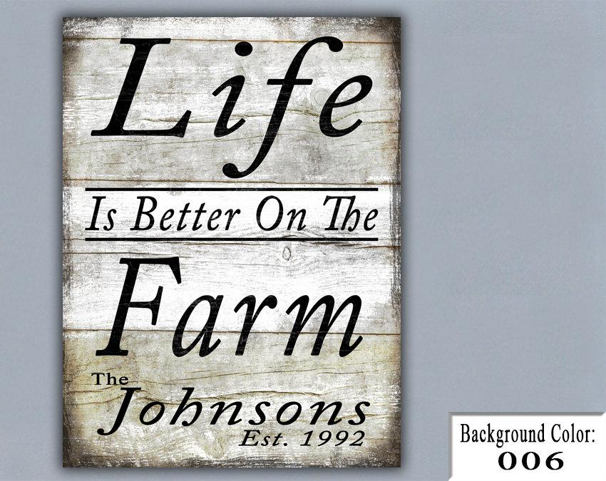 FARM Handmade Sign Wooden Sign Wood Sign Home Decor Wall