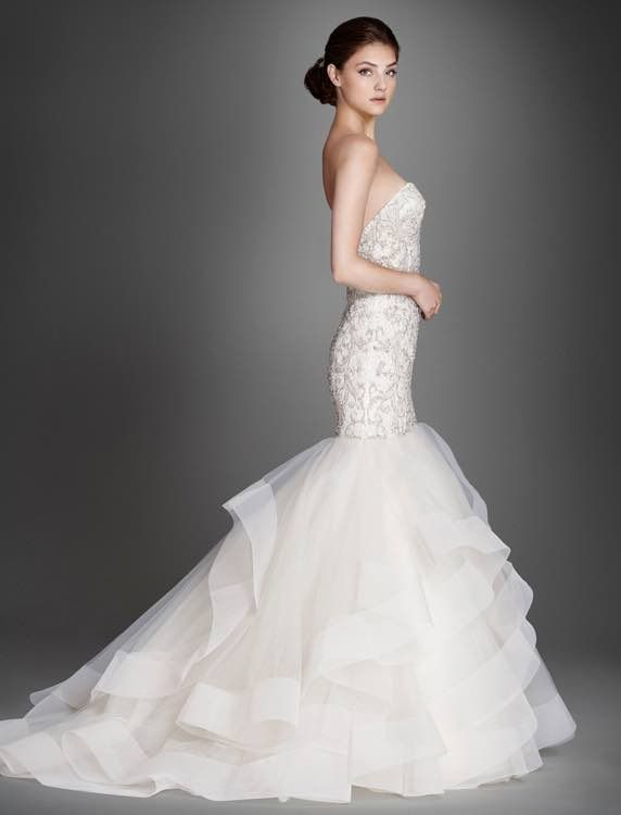 Mariage - Lazaro Wedding Dresses 2015 Collection Part II - MODwedding