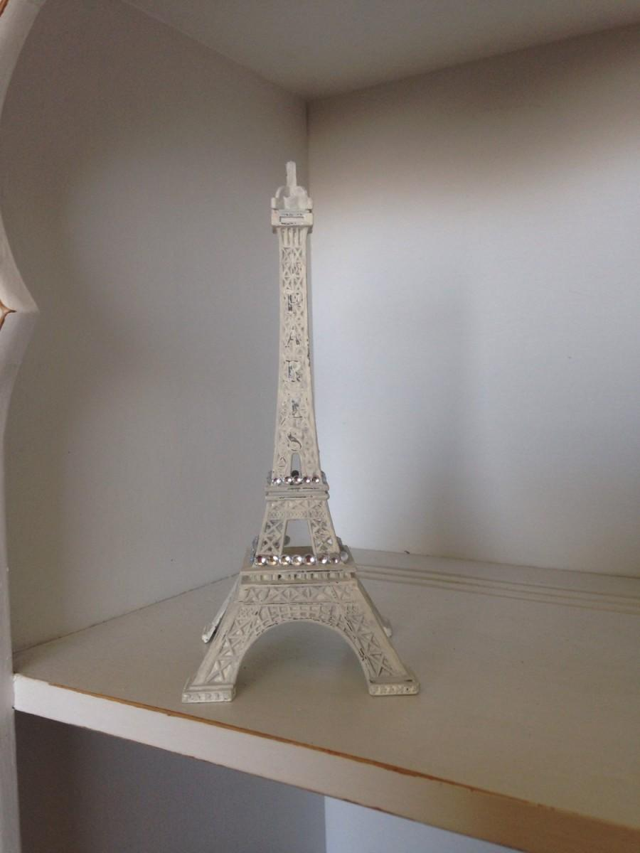 French Gray Eiffel Tower Decoration, Paris Decor, Wedding Cake ...