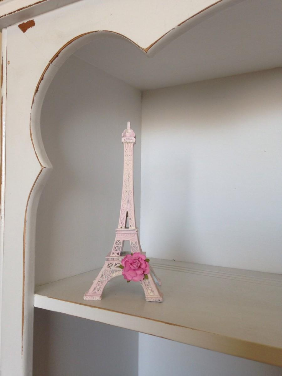 Pink Eiffel Tower Decorations Paris Decor Shabby Chic French Country Parisian Home