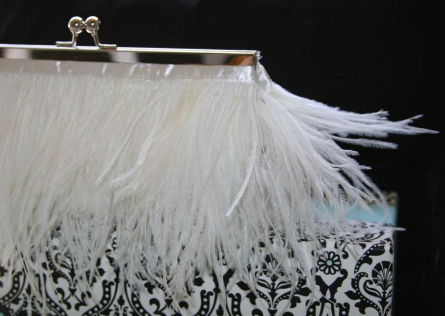 Свадьба - Bridal Purse Cream Off White for Wedding Prom Evening