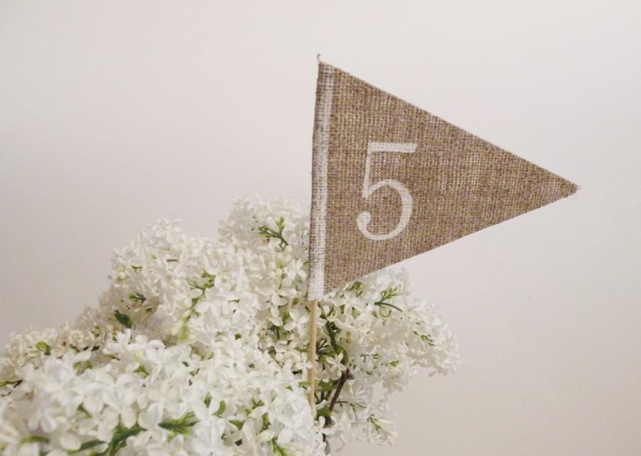 Hochzeit - Wedding Table Numbers, Wedding Signs, Table Numbers, Wedding Decor, Wedding CenterPiece, Rustic Wedding, Wedding Table Decor, Numbers