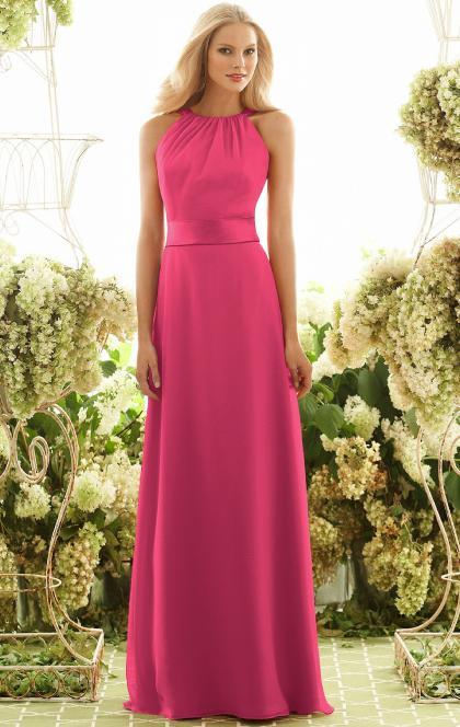 Свадьба - CHEAP FUCHSIA FLOOR LENGTH BRIDESMAID DRESS