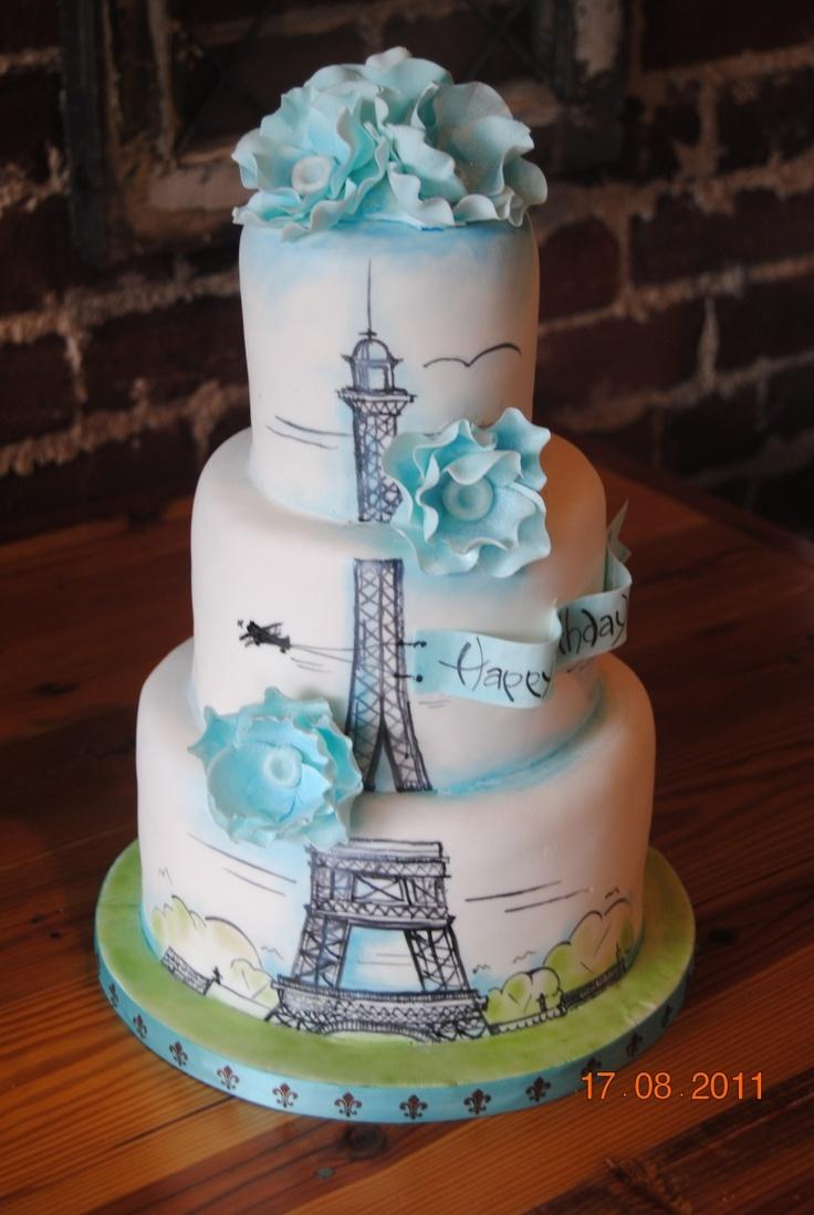 Wedding - Eiffel Tower Cake…