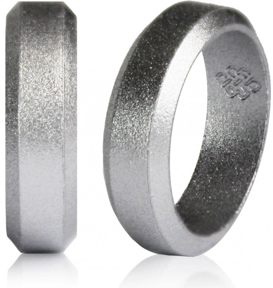 black bands rings silicone fused for core ring online mens men silicine active wedding