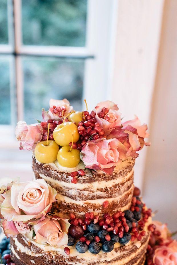 Wedding - Dreamy Pink Blush & Marsala Wedding In Cherry Blossom Orchard: Lana & Herman