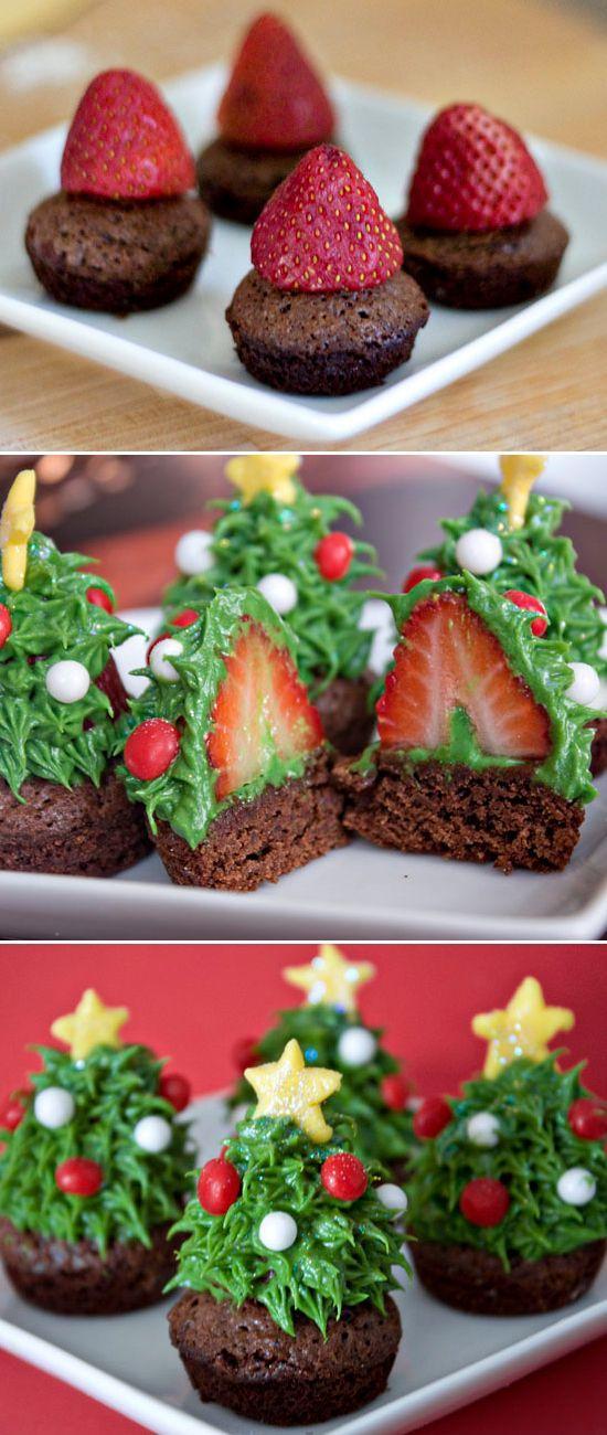Wedding - 9 Creative Christmas Cupcake Ideas - Kids Kubby