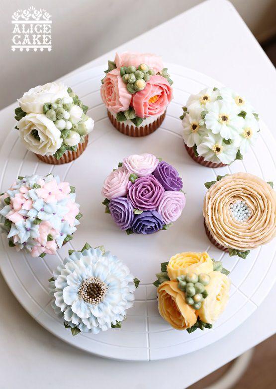 Свадьба - Cupcake Decorating