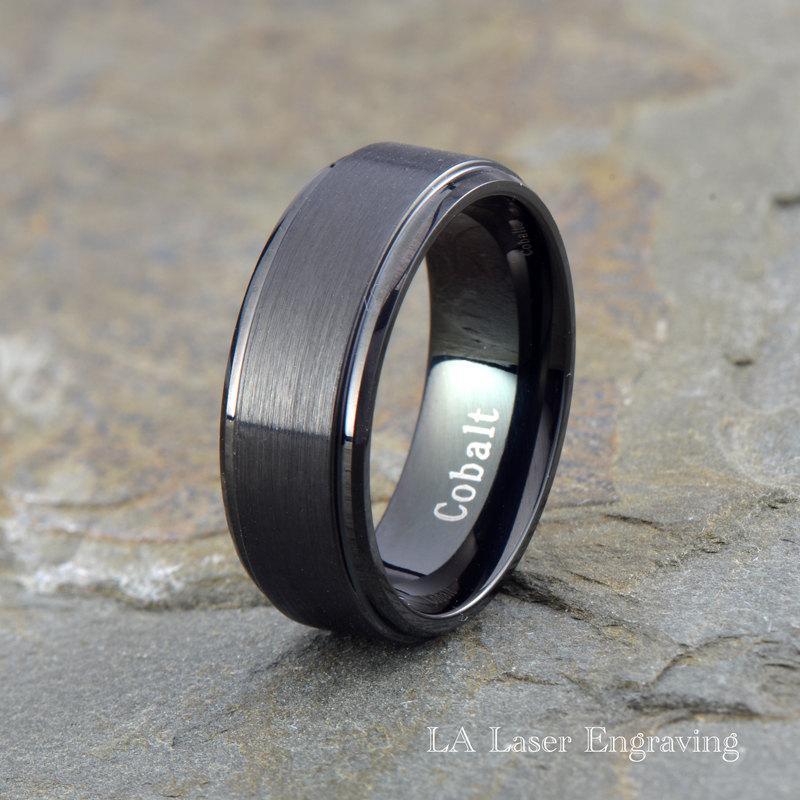 Mens Cobalt Wedding Rings 027 - Mens Cobalt Wedding Rings