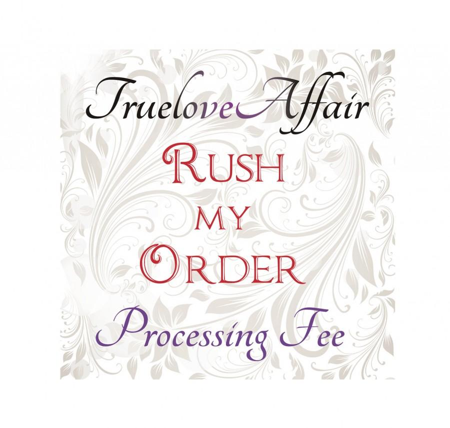 Mariage - Domestic US RUSH Order Add On to your order!  Rush Services and Upgraded Shipping.