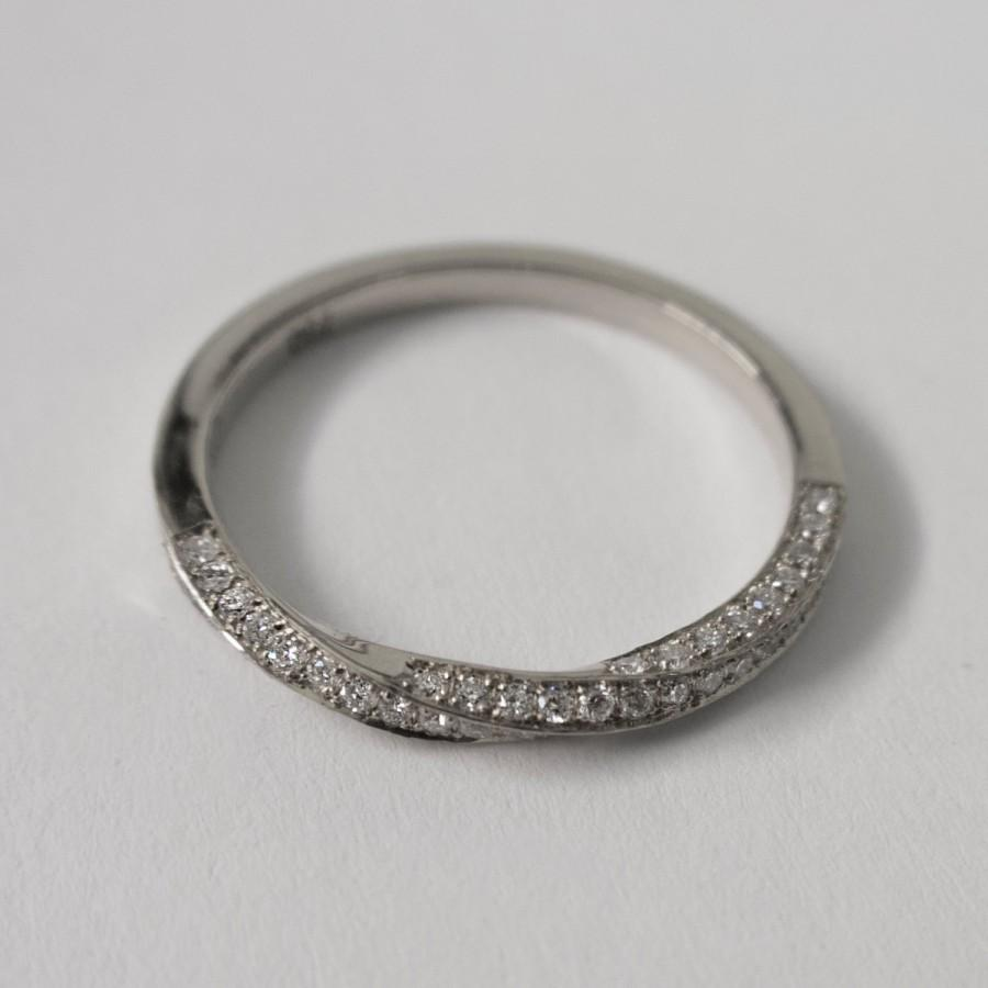 Mobius Diamond Ring Platinum And Diamonds Ring Eternity Ring Eternity Ba