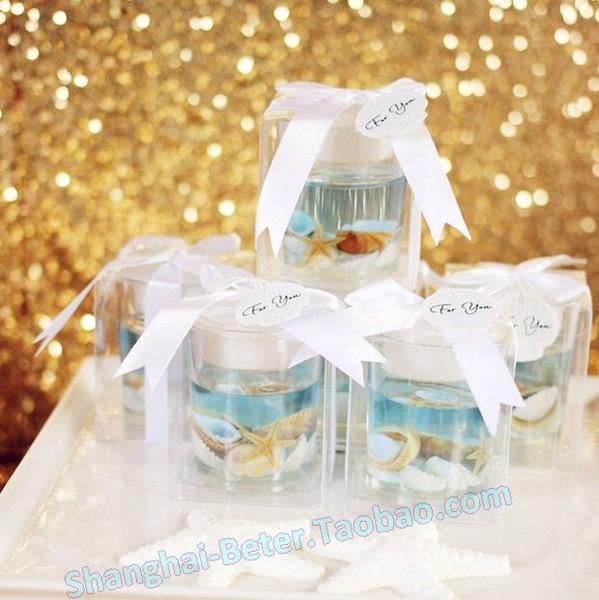 زفاف - 海星貝殼果凍蠟LZ039歐式情人節派對 結婚婚慶用品創意婚禮小禮物