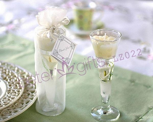 Свадьба - 婚禮小物 馬蹄蓮果凍蠟燭 歐美婚慶用品,創意婚品,婚禮回禮LZ022