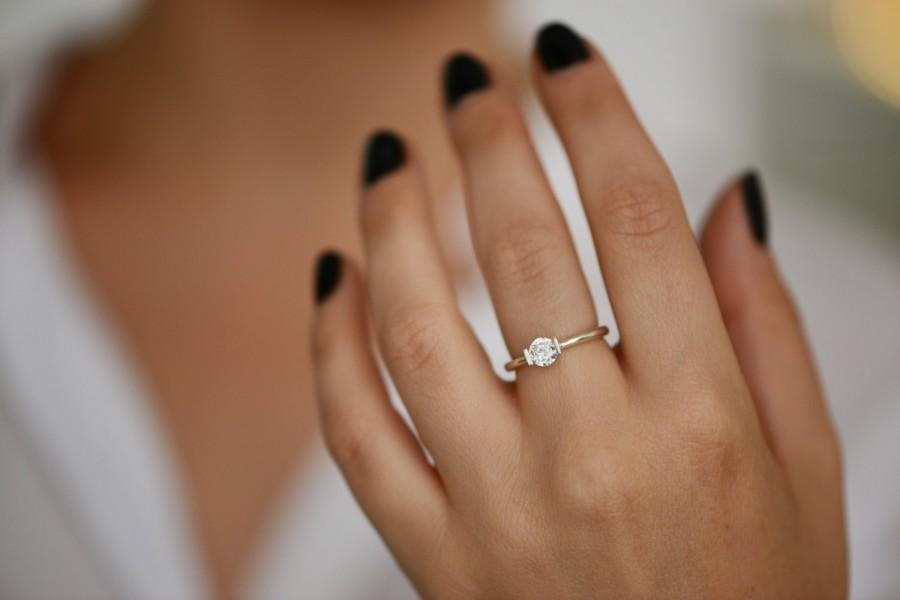 utter alisoncaporimo dblbig wedding that impossibly minimal are delicate rings stunners engagement perfection